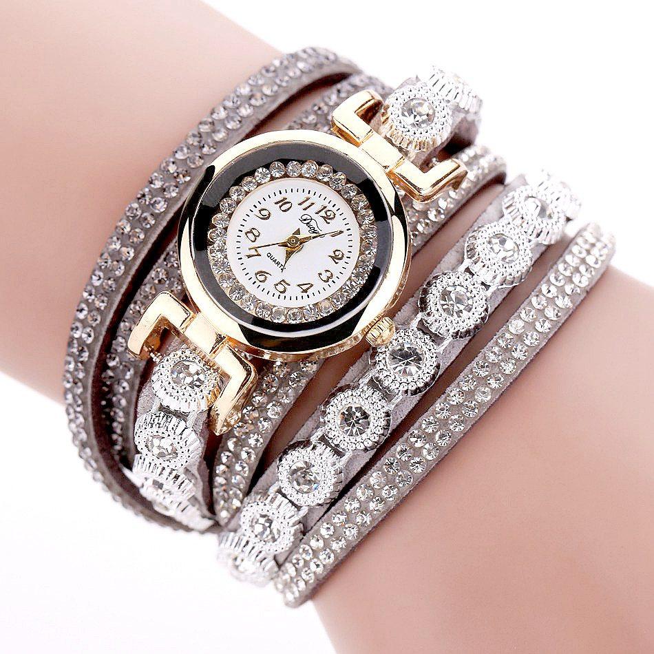duoya marque femmes bracelet de luxe montre bracelet pour les femmes montre 2016 cristal cadran. Black Bedroom Furniture Sets. Home Design Ideas