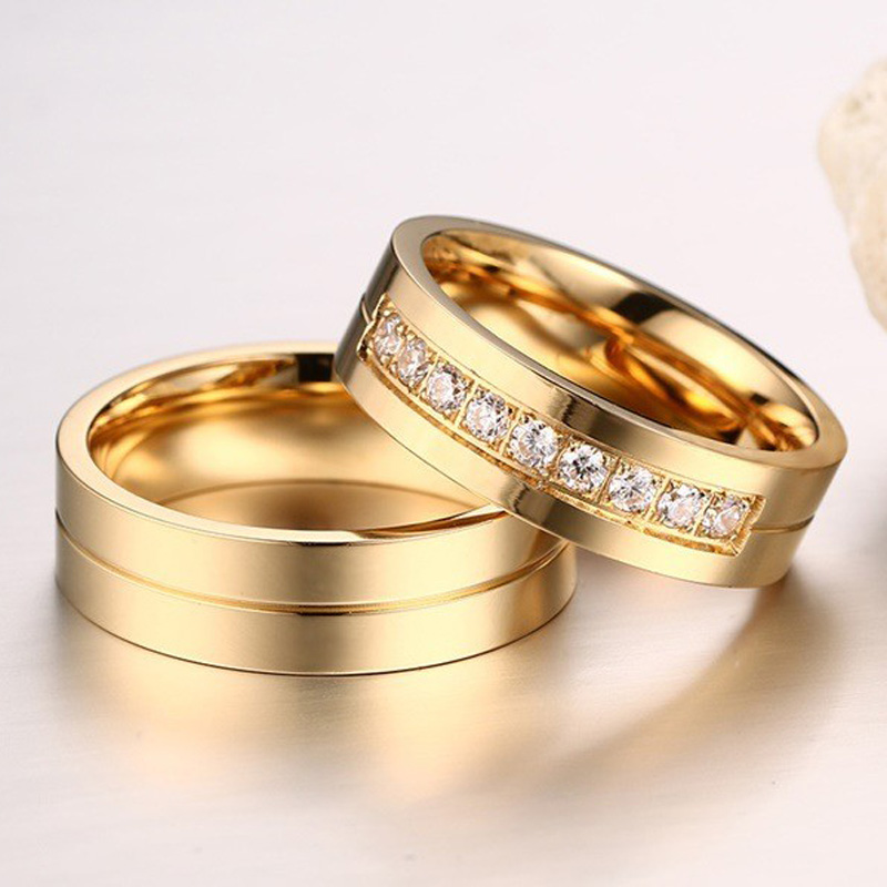 wedding rings couple images