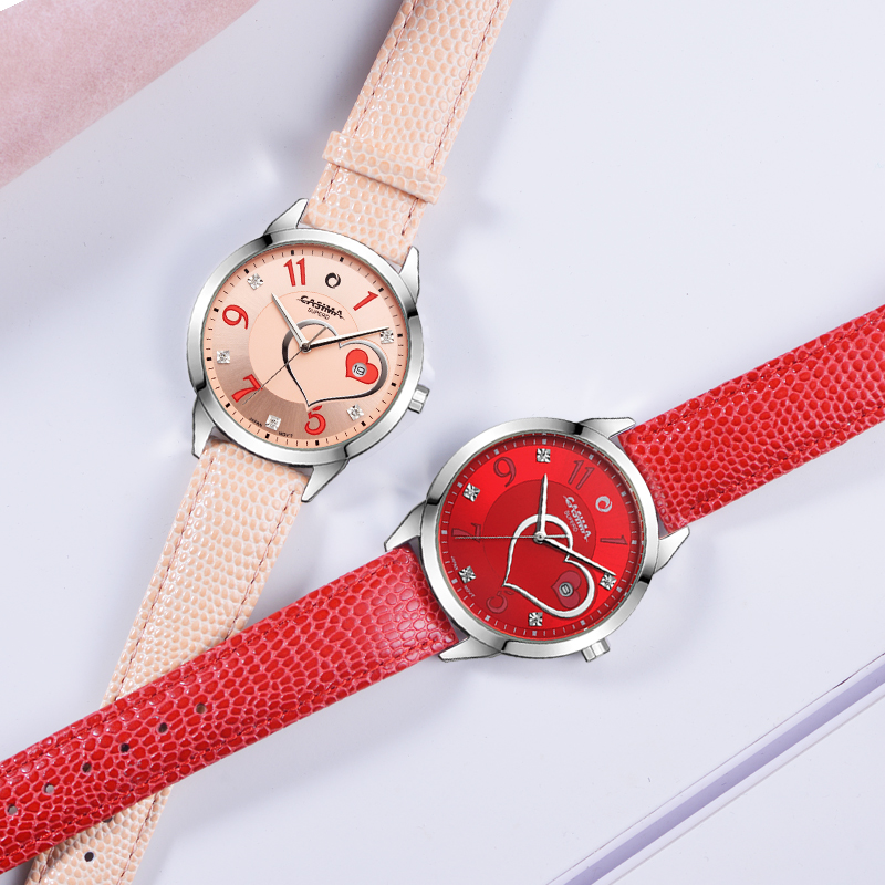 CASIMA luxury brand watches women fashion beauty crystal table ...